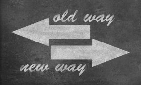 Changes in business-old v/s new ways of doing things