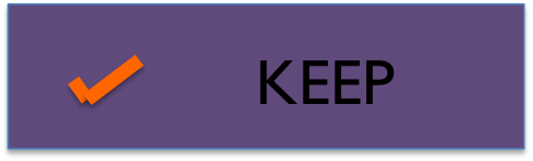 Keep button