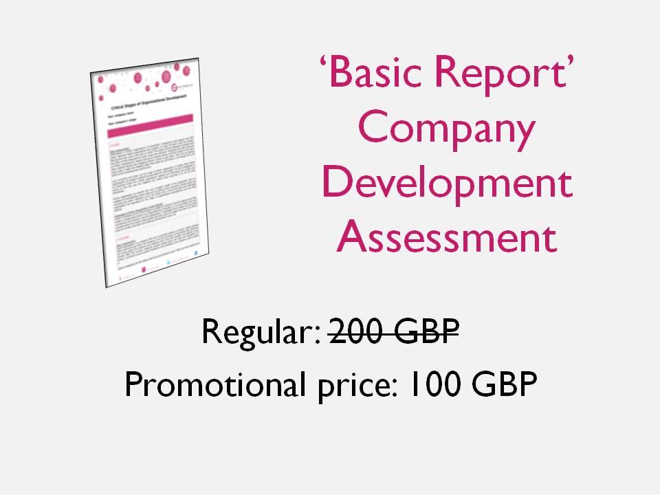 basic report company development assessment